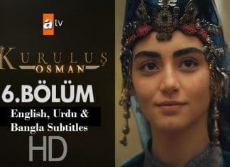 Kurulus Osman Episode 6 with English, Urdu & Bangla Subtitles Free