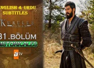 Watch Kurulus Osman Episode 31 (Season 2 Episode 4) with English & Urdu Subtitles Free of Cost