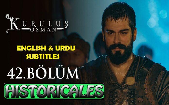 Kurulus Osman Episode 42 (Season 2 Episode 15) English & Urdu Subtitles Free of Cost