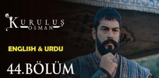 Kurulus Osman Episode 44 (Season 2 Episode 17) English & Urdu Subtitles Free of Cost