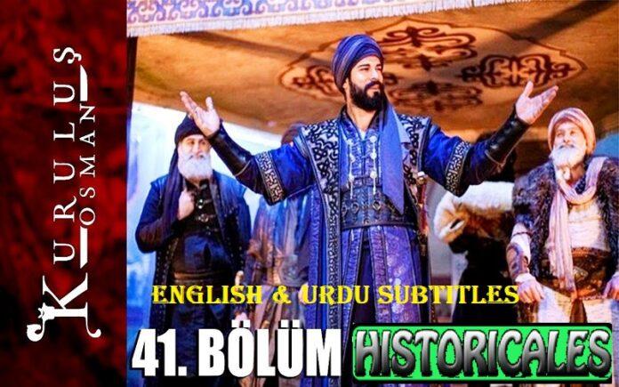 Kurulus Osman Episode 41 (Season 2 Episode 14) English & Urdu Subtitles Free of Cost