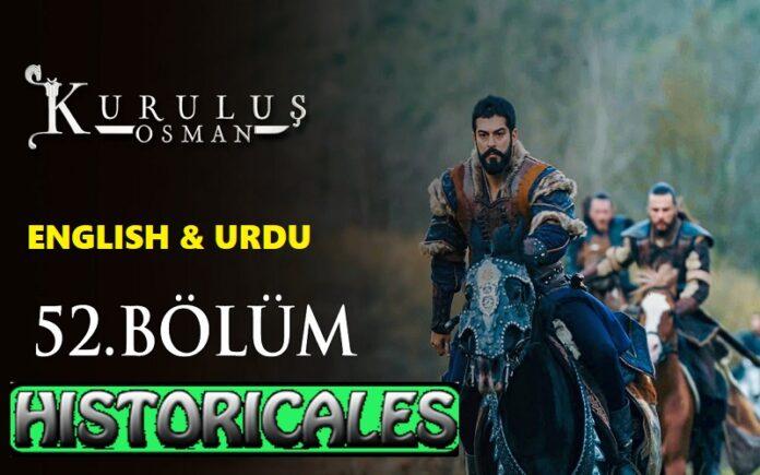 Kurulus Osman Episode 52 (Season 2 Episode 25) English & Urdu Subtitles Free of Cost