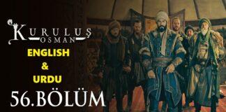 Kurulus Osman Episode 56 (Season 2 Episode 29) English & Urdu Subtitles Free of Cost