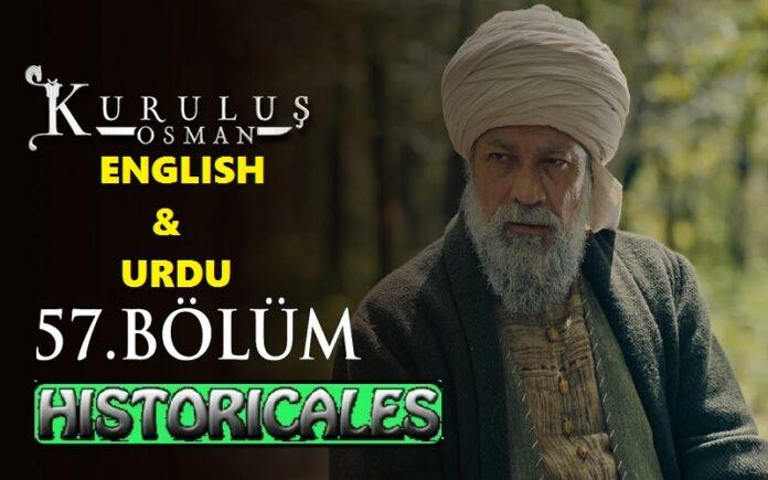 Kurulus Osman Episode 57 (Season 2 Episode 30) English & Urdu Subtitles Free of Cost