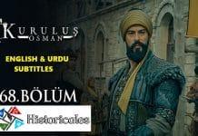 Kurulus Osman Episode 68 (Season 3 Episode 4) English & Urdu Subtitles Free of Cost